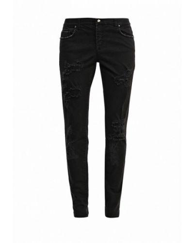 Зауженные джинсы - черные Byblos