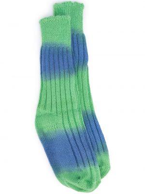 Синие кашемировые носки The Elder Statesman