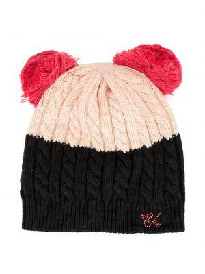 Розовая кепка Emporio Armani Kids