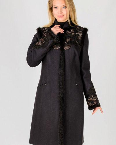 Коричневое пальто Raslov