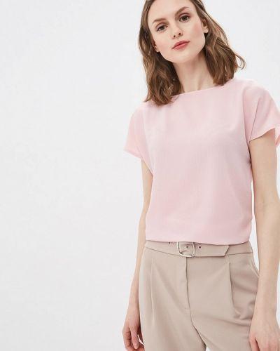 Блузка с коротким рукавом розовая весенний Vittoria Vicci