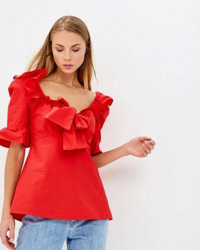 Блузка - красная Lost Ink.