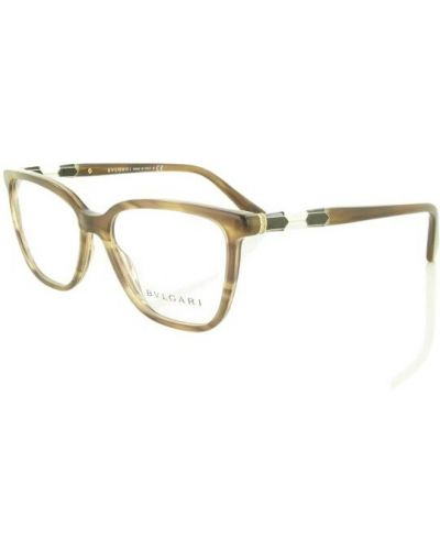 Brązowe okulary Bvlgari