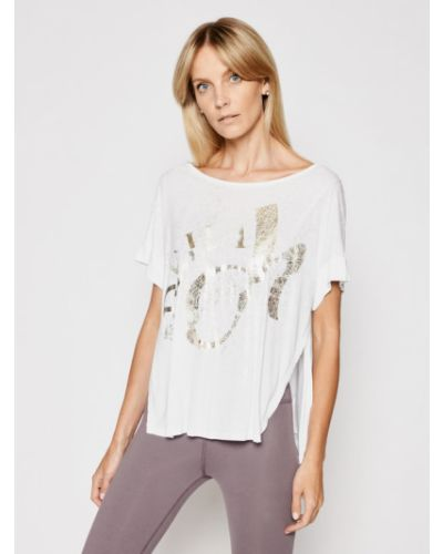 Biała bluzka koszulowa Deha