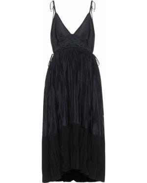 Платье мини миди с вышивкой Jil Sander
