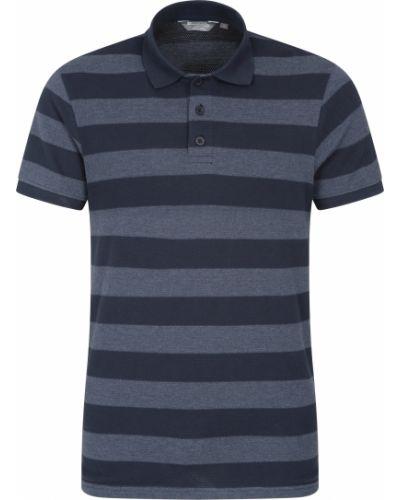 T-shirt - niebieska Mountain Warehouse