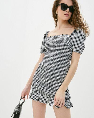Джинсовое платье с открытыми плечами Guess Jeans