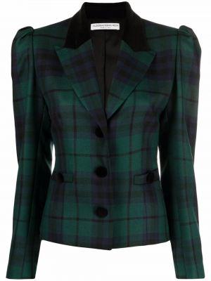 Длинная куртка - черная Alessandra Rich