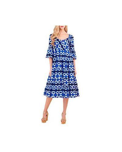 Платье платье-сарафан с вырезом Luisa Spagnoli