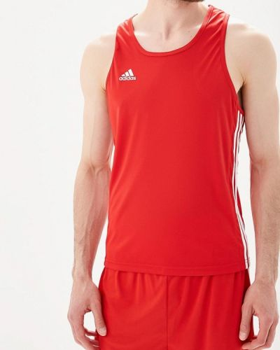 Спортивная майка красная Adidas Combat