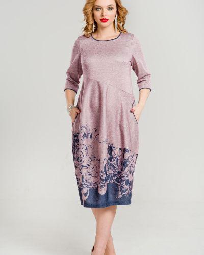 Платье в стиле бохо с вырезом марита
