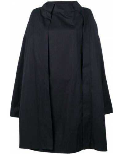 Длинное пальто - синее Chalayan