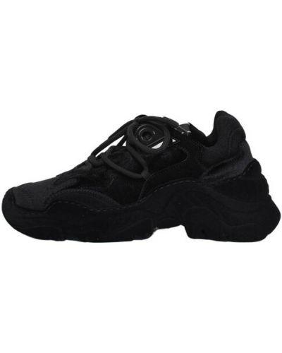 Czarne sneakersy N°21