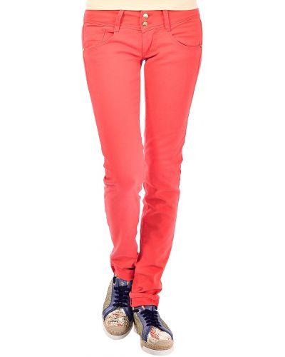 Коралловые джинсы Met