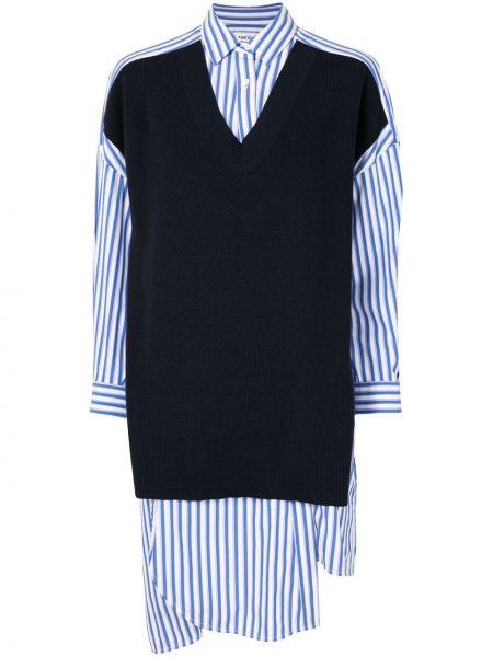 Koszula asymetryczna - niebieska Enfold