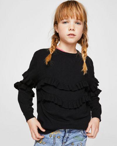 Черный свитер Mango Kids