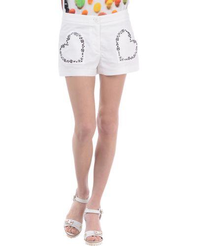 Белые шорты Love Moschino