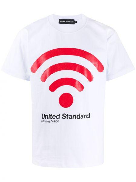 Прямая рубашка с короткими рукавами United Standard