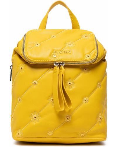 Plecak - żółty Desigual