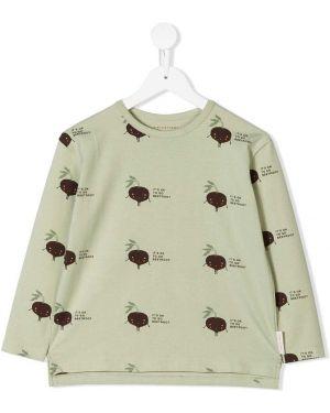 Зеленая футболка Tiny Cottons