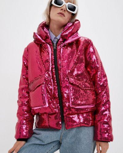 Утепленная куртка - розовая Canadian