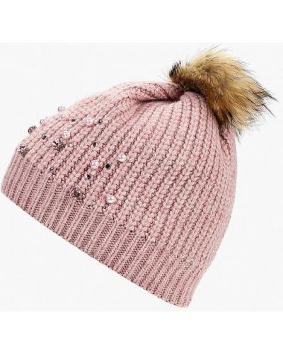 Розовая шапка осенняя Baon