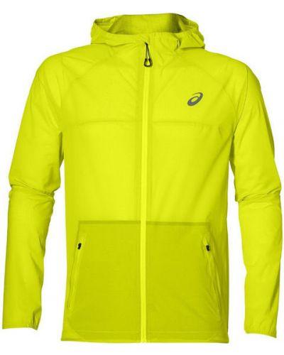 Куртка с капюшоном водонепроницаемая на молнии Asics