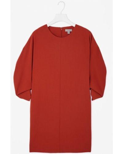 Прямое платье - красное Cos