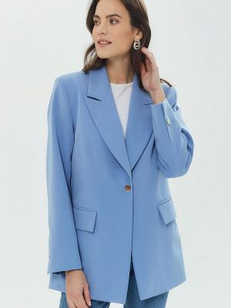 Пиджак - голубой Madlen
