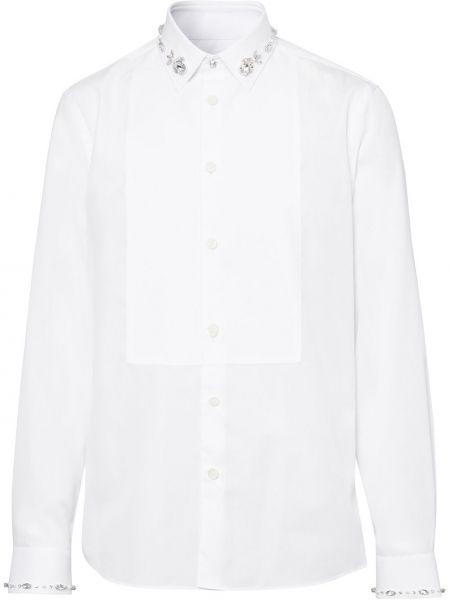Koszula z długim rękawem klasyczna zapinane na guziki Burberry