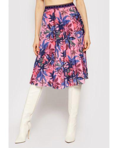 Spódnica plisowana - różowa Femi Stories