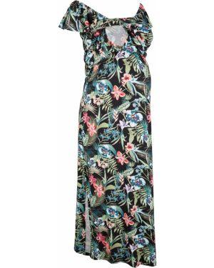 Платье для беременных с цветочным принтом Bonprix