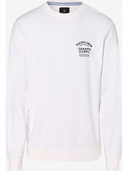 Biała bluza Andrew James Sailing