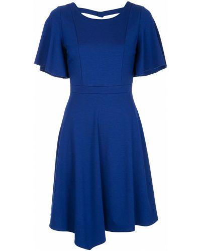 Платье расклешенное синее Loveless