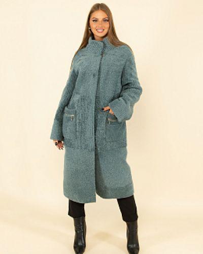 Пальто из овчины - зеленое каляев