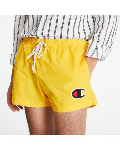 Желтые шорты для плаванья Champion