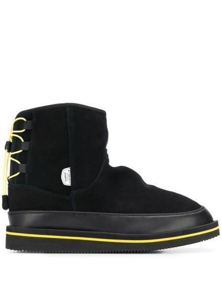 Buty skórzane czarne Suicoke