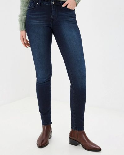 Зауженные джинсы - синие Mustang