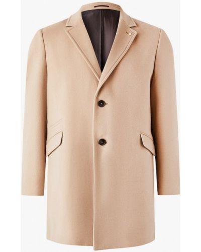 Бежевое пальто Burton Menswear London