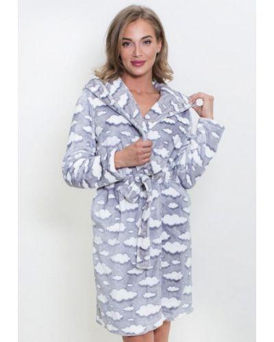 Домашний халат - серый Vienetta