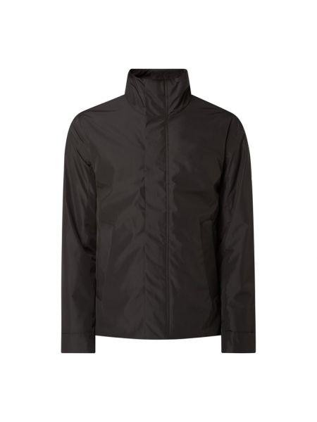 Klasyczna czarna kurtka na rzepy Elvine