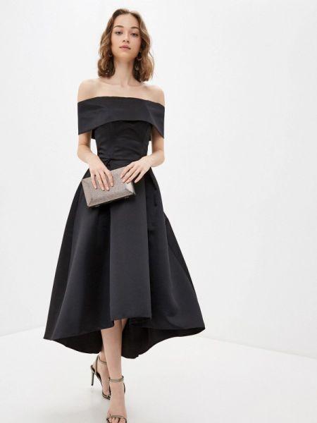 Вечернее платье черное весеннее Fashion.love.story
