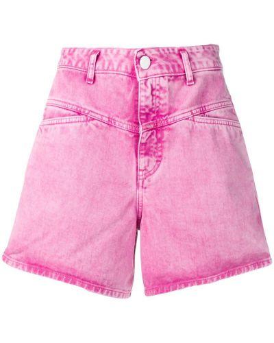 Деловые розовые шорты с карманами Closed