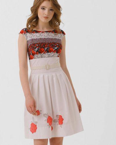 Разноцветное платье Ано