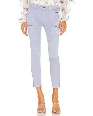 Джинсы-скинни с манжетами с накладными карманами Joie