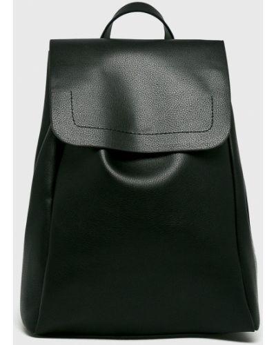 Черный кожаный рюкзак Pieces