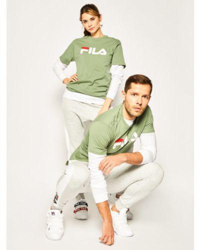 Klasyczna koszula, zielony Fila