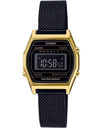 Водонепроницаемые часы черные кварцевые Casio