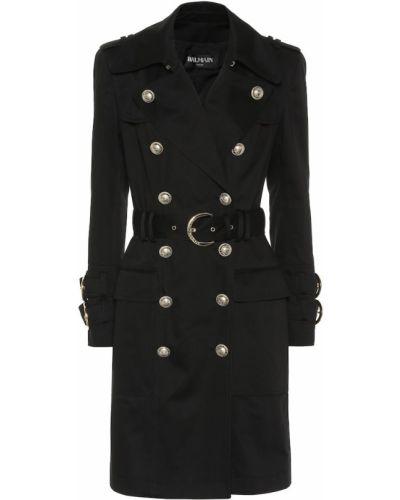 Пальто милитари пальто-тренч Balmain