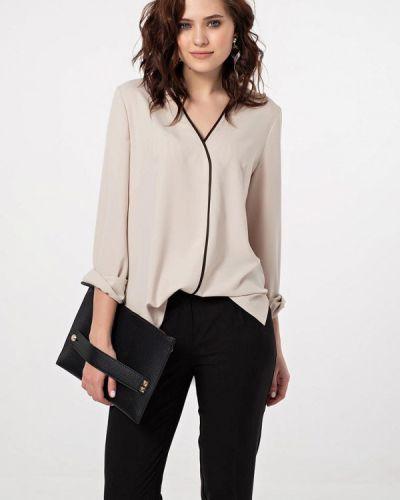 Блузка с длинным рукавом бежевый Fly